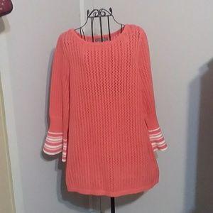 Jessica London 14/16 Coral Sweater